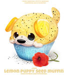 #2846. Lemon Puppy Seed Muffin - Word Play
