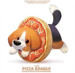 #2848 Pizza Beagle - Word Play