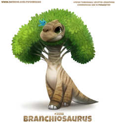 #2858. Branchiosaurus - Word Play