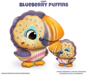 #2867. Blueberry Puffins - Word Play