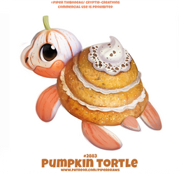 #2883. Pumkin Tortle - Word Play