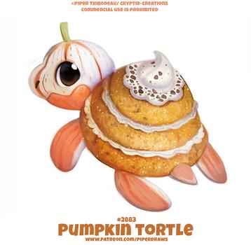 #2883. Pumkin Tortle - Word Play