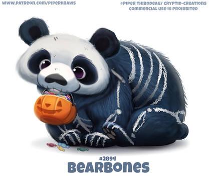 #2894. Bear Bones - Word Play