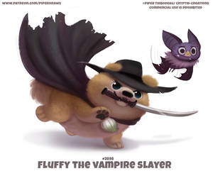 #2898. Fluffy the Vampire Slayer - Word Play