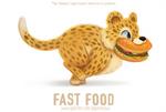 #2916. Fast Food - Word Play