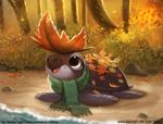 #2920. Falling Leaves - Illustration