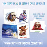 Greeting Card Ad by Cryptid-Creations