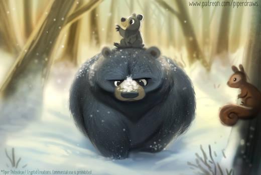#2926. Late to Hibernate - Illustration