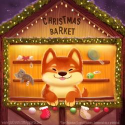 #2932. Christmas Barket - Word Play