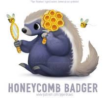 #2937. Honeycomb Badger - Word Play