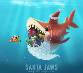 #2954. Santa Jaws - Word Play