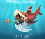 #2954. Santa Jaws - Word Play