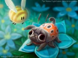 #2962. Ladypug - Illustration