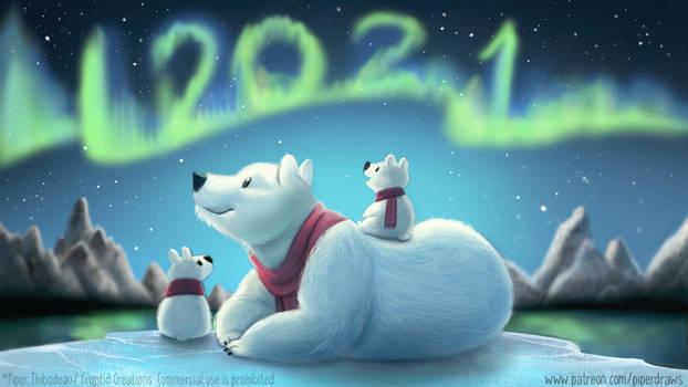 Happy 2021! :) - Patreon HQ Wallpaper
