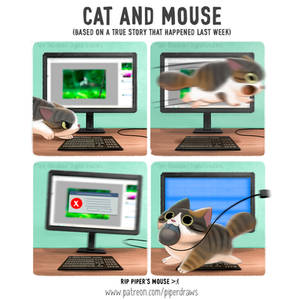 #2964. Cat and Mouse - Comic