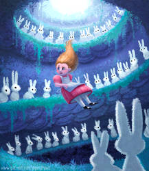 #2966. Wonderland: Rabbit Hole - Vis Dev