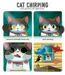 #2971. Cat Chirping - Comic
