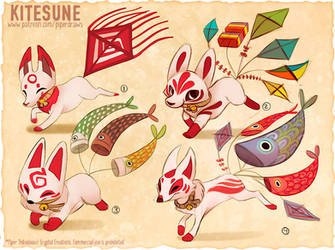 #2974. Kitesune - Exploration Sketches