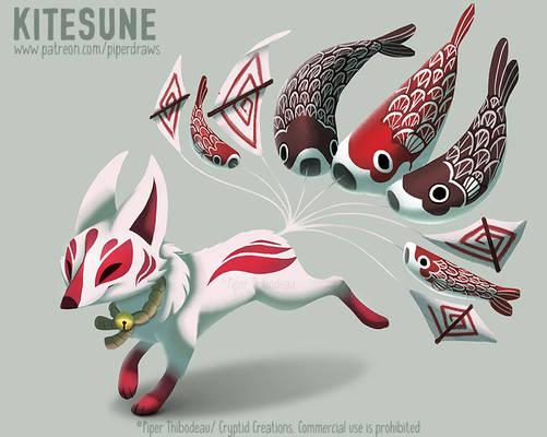 #2975. Kitesune - Final Design