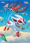 #2976. Kitesune - Illustration