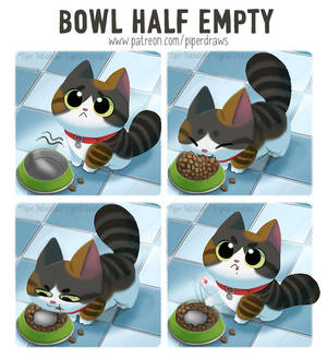 #2978. Bowl Half Empty - Comic