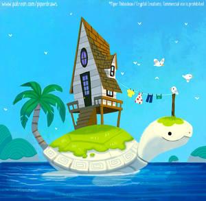 #2980. Turtle House - Illustration
