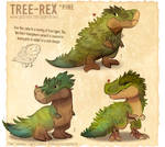 #2988. Tree-Rex (Pine) - Sketches