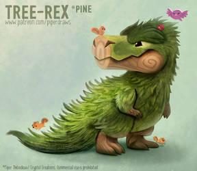 #2989. Tree-Rex (Pine) - Final Design