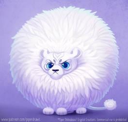 2994. White Lion - Illustration