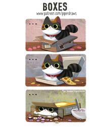 2999. Boxes - Comic
