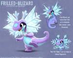 3003. Frilled Blizard - Final Design