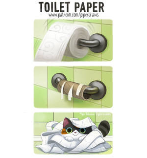3006. Toilet Paper - Comic