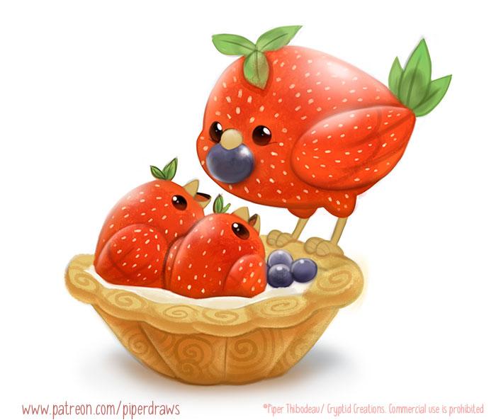 3015. Nest Tart - Illustration