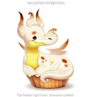 3017. Meringue Dragon - Illustration