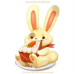 3018. Carrot Cake - Illustration
