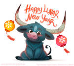 3020. Happy Lunar New Year - Illustration