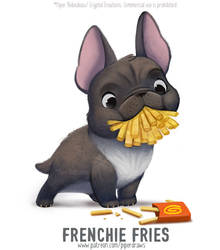 3027. Frenchie Fries - Word Play