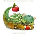 3032. Fruit-Bearing Dino - Illustration