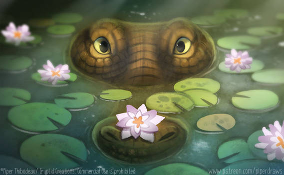 3045. Gator - Illustration