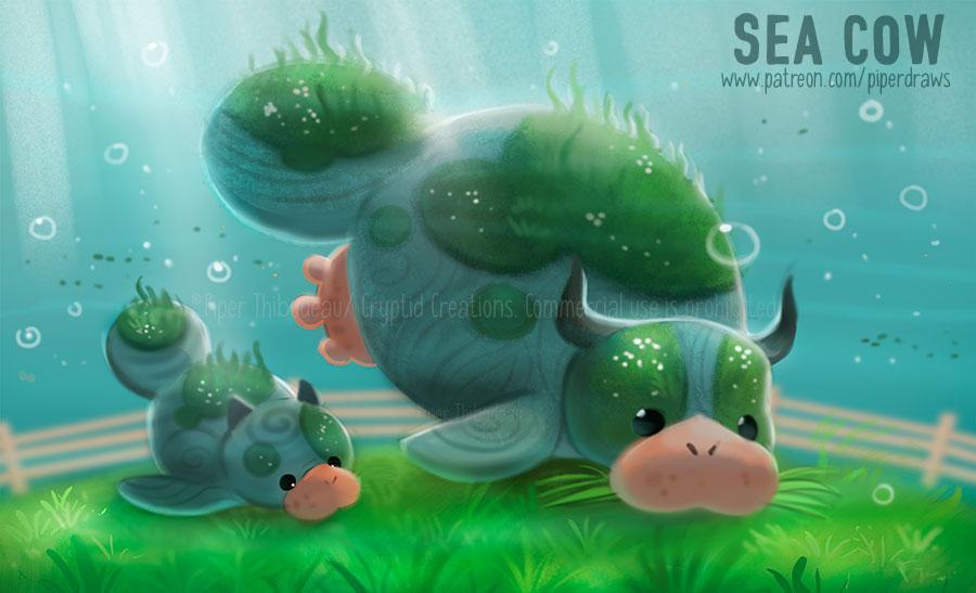 3051. Sea Cow - Word Play