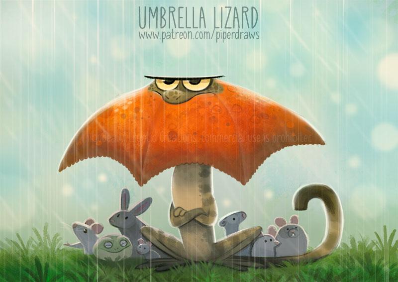 3057. Umbrella Lizard - Word Play