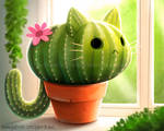 3061. Catcus - Illustration