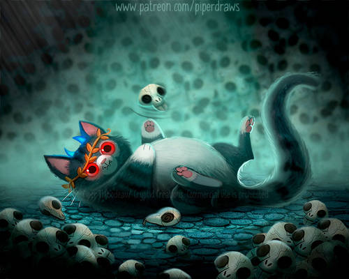 3068. Hades Cat - Illustration