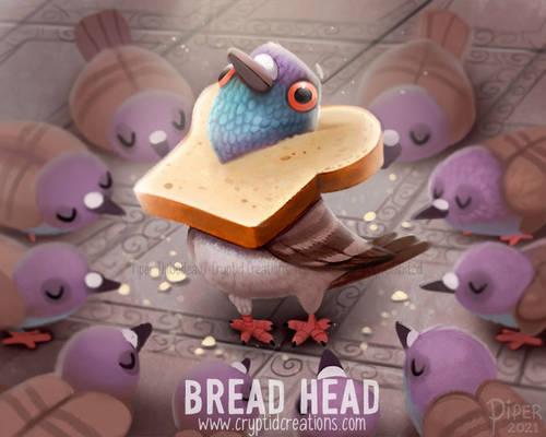 3071. Bread Head - Illustration