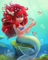 3083. Axolotl Mermaid