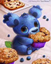 3089. Bluebeary Muffin