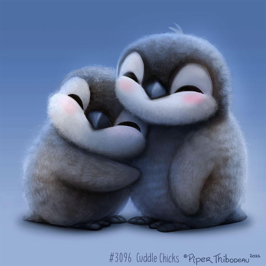 3096. Cuddle Chicks