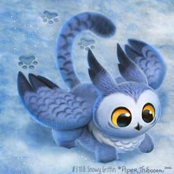 3108. Snowy Griffin