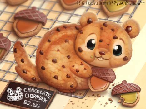 3112. Chocolate Chipmunk