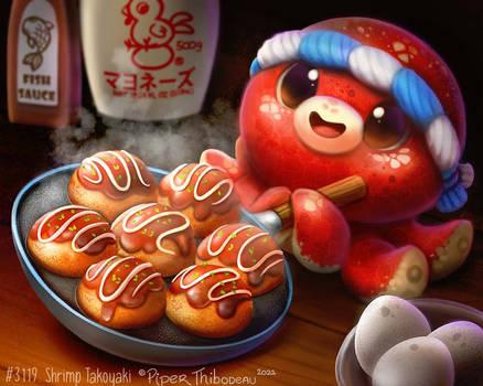 3119. Shrimp Takoyaki